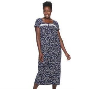 🆕Croft & Barrel Navy Printed Sleep Night Gown